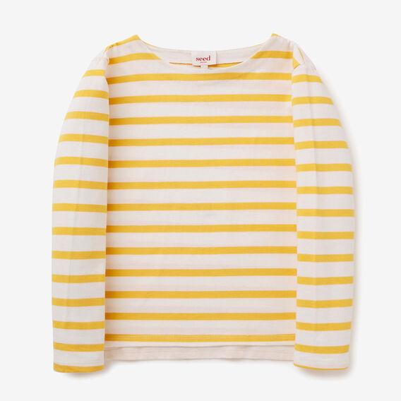 Stripe Tee  SUNFLOWER  hi-res