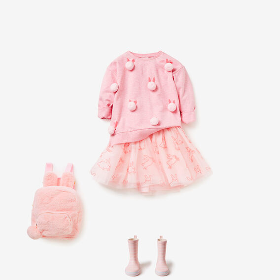 Embroidered Tutu  ICE PINK  hi-res