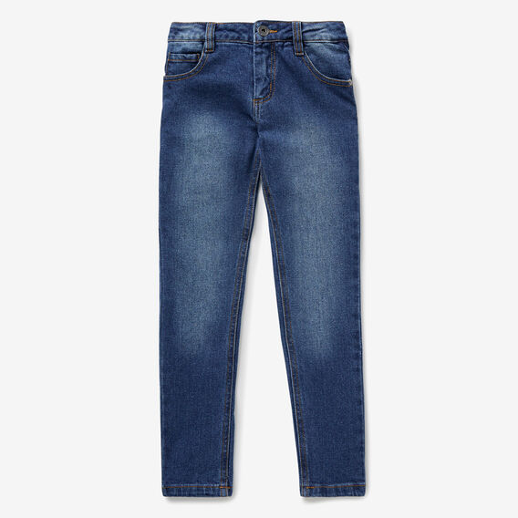 5 Pocket Skinny Jean  VINTAGE BLUE  hi-res