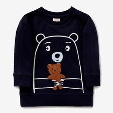 Bear Crew Neck Sweater  MIDNIGHT BLUE  hi-res