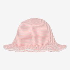 Seersucker Swim Hat  MELON  hi-res