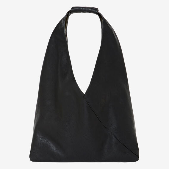 Alexa Triangle Bag  BLACK/ PEWTER  hi-res