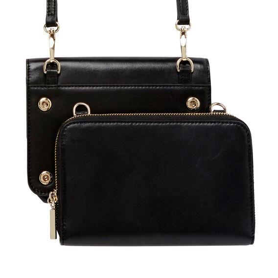 Leather Sling  BLACK  hi-res
