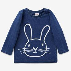 Indigo Bunny Tee  WASHED INDIGO  hi-res
