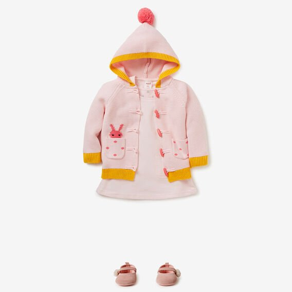 Bunny Pocket Cardigan  ICE PINK  hi-res