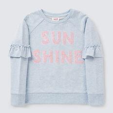 Sunshine Sequin Windcheater  BLUE MARLE  hi-res