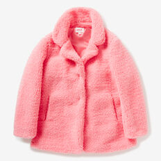 Shearling Coat  FAIRY FLOSS PINK  hi-res