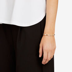 Contrast Bead Bracelet  MULTI  hi-res