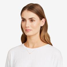 Initial Necklace  C  hi-res