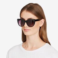 Amelie Cats Eye Sunglasses  BLACK  hi-res