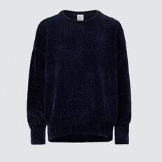 Chenille Sweater  MIDNIGHT  hi-res