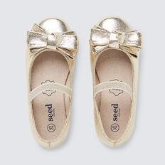 Bow Ballet Flat  GOLD  hi-res
