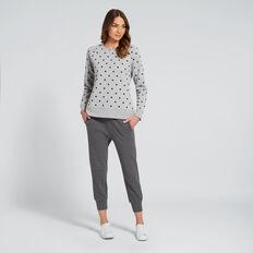 Spot Sweater  MID GREY MARLE  hi-res