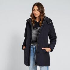 Longline Puffa Jacket  DEEP NAVY  hi-res