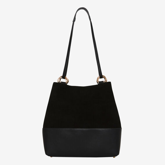 Caitlin Ring Detail Bag  BLACK  hi-res