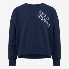 Bon Vibes Sweater  DARK NAVY  hi-res