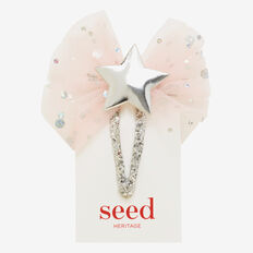 Tulle & Star Snap  PINK/SILVER  hi-res