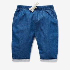 Chambray Jersey Pants  MID CHAMBRAY  hi-res