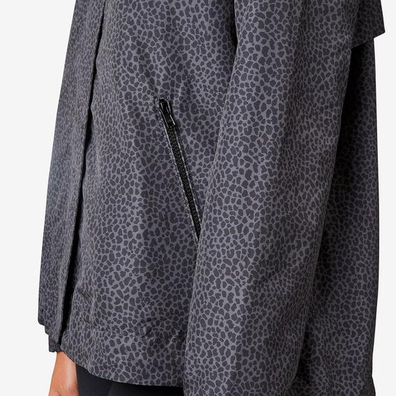 Tonal Leopard Jacket  BLACK  hi-res