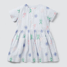 Stripe Shirt Dress  MULTI  hi-res