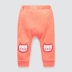 Cat Speckle Track Pant  CORAL RED  hi-res