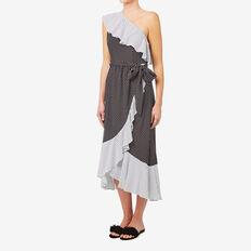 Spot Wrap Dress  MULTI SPOT  hi-res