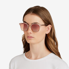 Jen Thin Topbar Sunglasses  ROSE GOLD  hi-res