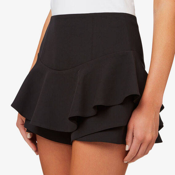 Frill Short  BLACK  hi-res
