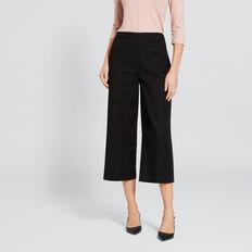 Structured Pant  BLACK  hi-res