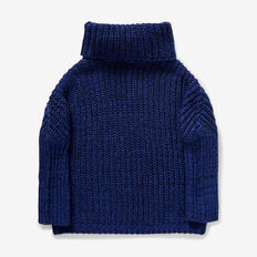 Roll Neck Sweater  SAPPHIRE BLUE  hi-res