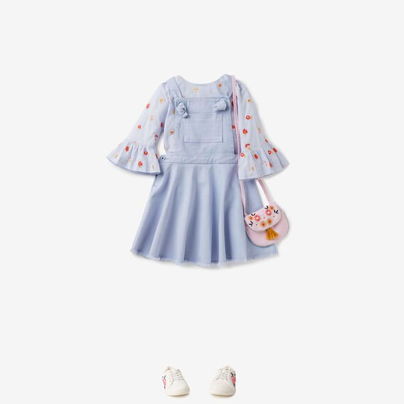 Denim Pinafore  BLUEBELL  hi-res