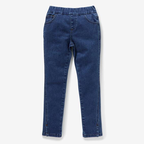 Forward Seam Jeans  BRIGHT INDIGO  hi-res