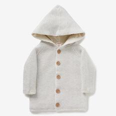 Raglan Knit Hoodie  ICY MARLE  hi-res