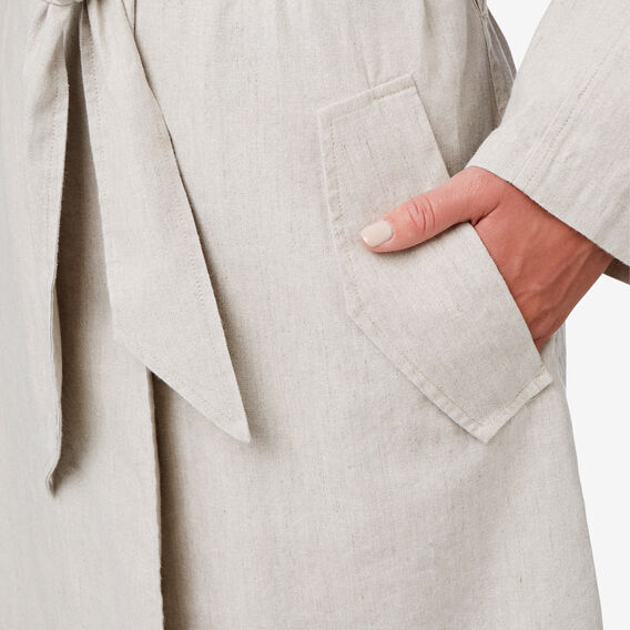 Textured Trench Coat  TEXTURED NATURAL  hi-res