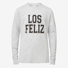 Los Feliz Tee  SMOKEY GREY  hi-res