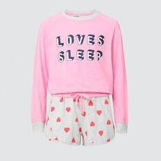 Loves Sleep Pyjama  FLAMINGO PINK  hi-res