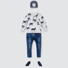 Wolf Yardage Sweater  VINTAGE WHITE MARLE  hi-res