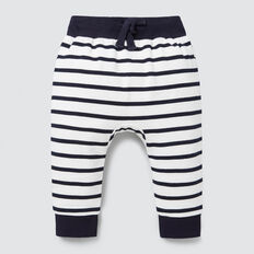 Novelty Stripe Trackie  VINTAGE WHITE  hi-res