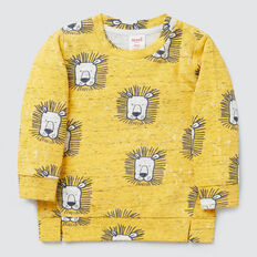 Lion Yardage Sweater  SAFFRON  hi-res