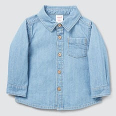 Chambray Shirt  BRIGHT WASH  hi-res