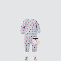 Daisy Yardage Track Pant  BABY BLUE  hi-res