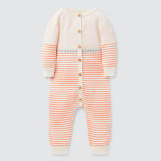 Stripe Knit Jumpsuit  NB CANVAS  hi-res