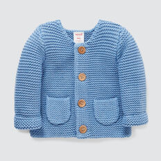 Pockets Knit Cardigan  NIAGARA BLUE  hi-res