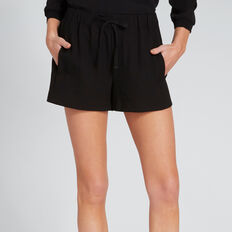 Drawstring Short  BLACK  hi-res