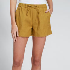 Casual Fray Hem Short  BRONZE MIST  hi-res