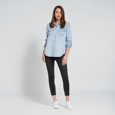 Denim Shirt  PASTEL DENIM WASH  hi-res