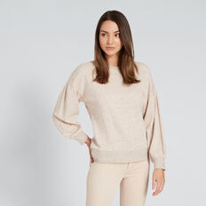 Marle Sweater  PEONY PINK MARLE  hi-res