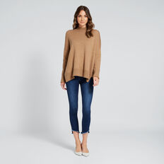 Cuffed Sleeve Knit  GOLDEN OAK  hi-res