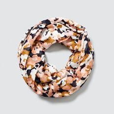 Blurred Floral Snood  MULTI  hi-res