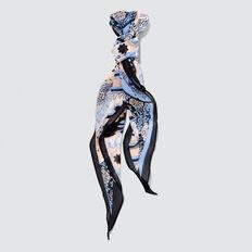 Diamond Neck Scarf  NAVY/BLUE  hi-res